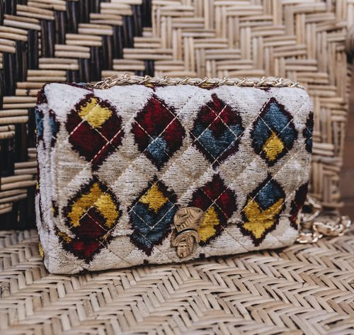 Bolso Quilted Rombos